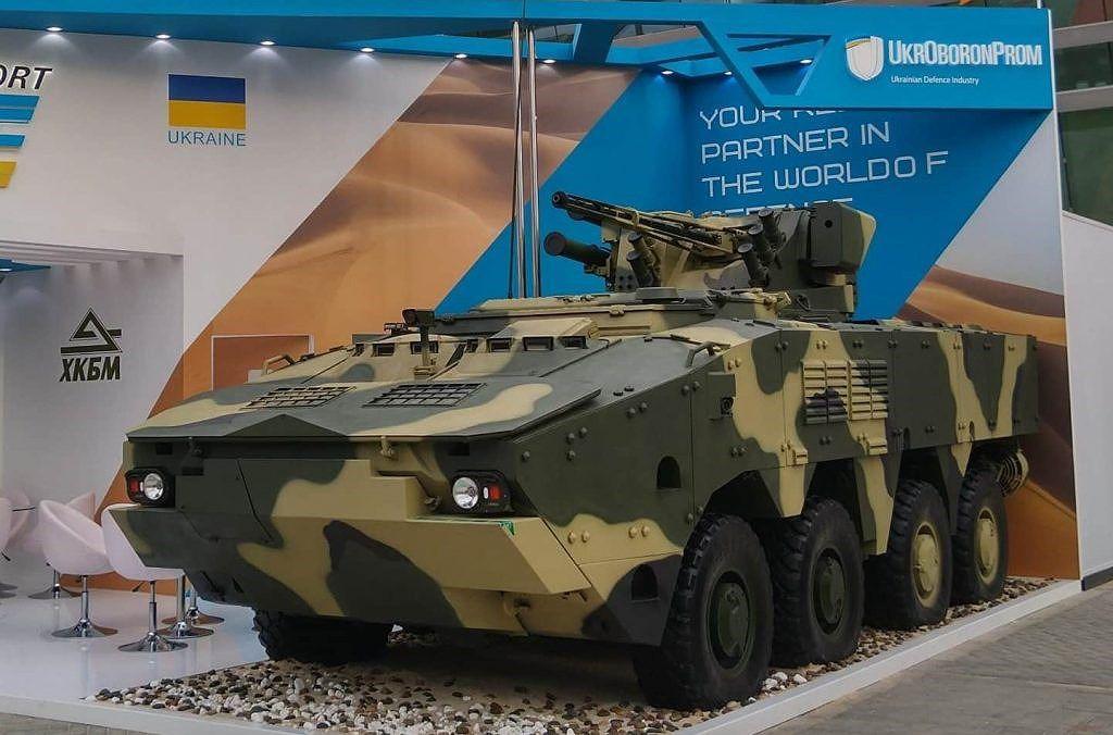 Ukraine quyết 'hất cẳng' Nga khỏi thị trường vũ khí bằng siêu thiết giáp BTR-4MV1 Ảnh 1