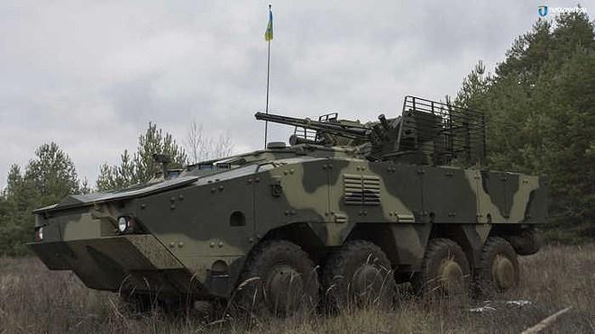 Ukraine quyết 'hất cẳng' Nga khỏi thị trường vũ khí bằng siêu thiết giáp BTR-4MV1 Ảnh 5