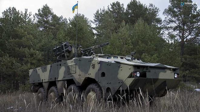 Ukraine quyết 'hất cẳng' Nga khỏi thị trường vũ khí bằng siêu thiết giáp BTR-4MV1 Ảnh 4