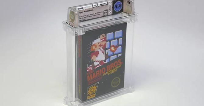 Băng chơi game Mario đời đầu được bán với giá 2,3 tỷ Ảnh 1