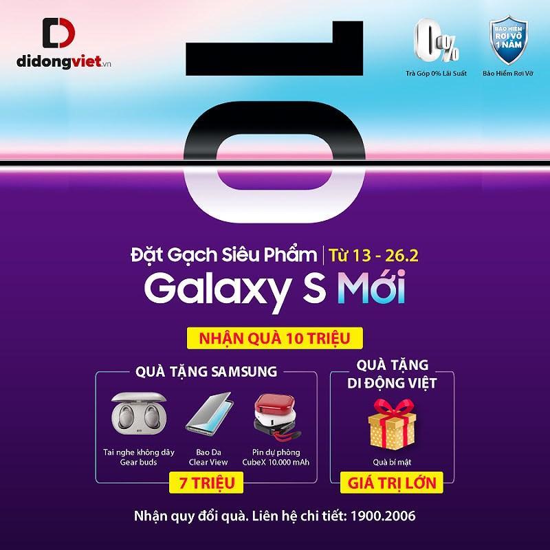 Samsung Galaxy S mới, 5 lý do nên 'đặt gạch'để nhận quà 10 triệu đồng Ảnh 2