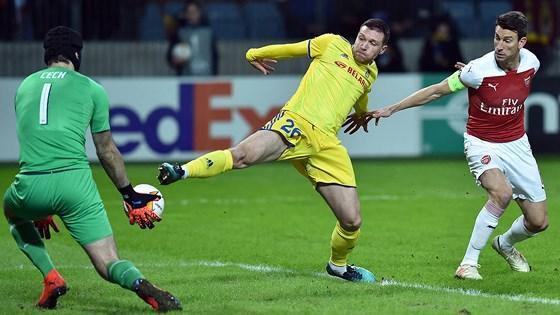Arsenal – BATE Borisov (0-1): Pháo thủ phục thù Ảnh 1