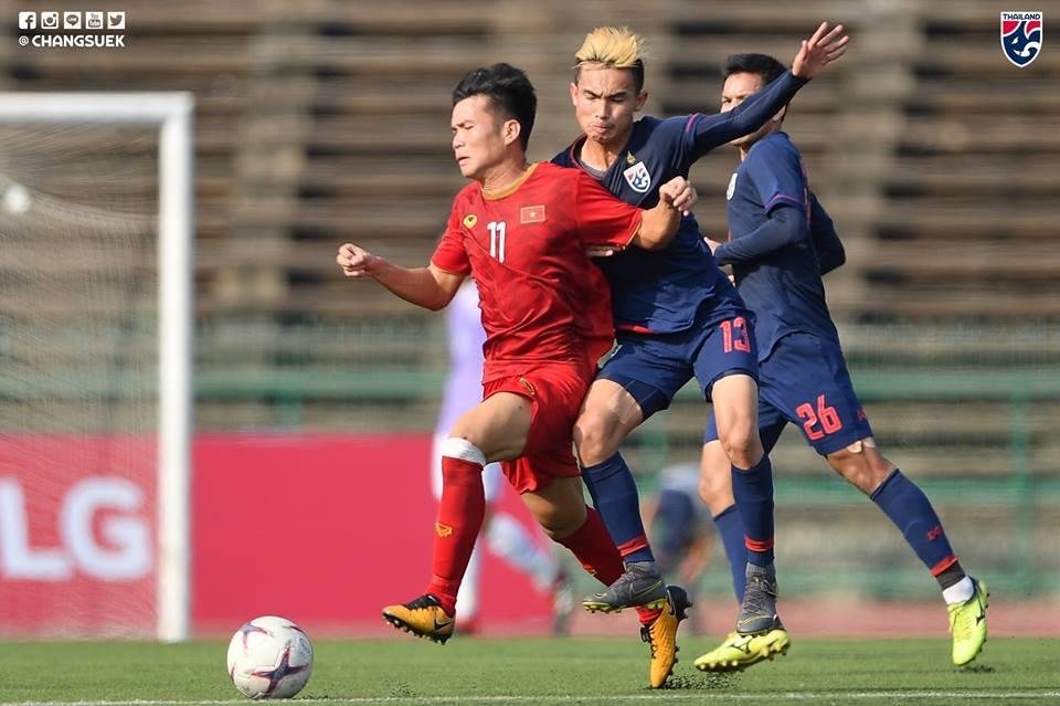 Hòa U22 Thái Lan bằng đội hình 'lạ', U22 Việt Nam vào bán kết với vị trí nhất bảng Ảnh 1