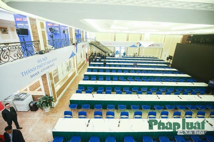 Toàn cảnh Trung tâm báo chí quốc tế phục vụ Hội nghị Thượng đỉnh Triều Tiên - Hoa Kỳ Ảnh 5