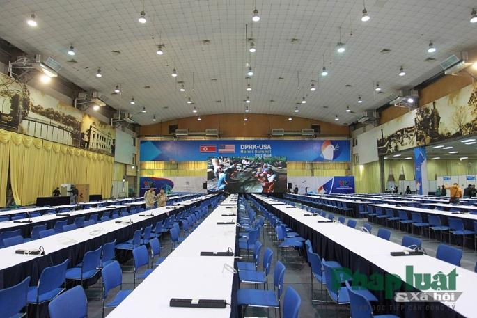Toàn cảnh Trung tâm báo chí quốc tế phục vụ Hội nghị Thượng đỉnh Triều Tiên - Hoa Kỳ Ảnh 13