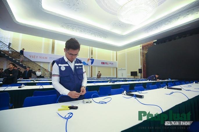 Toàn cảnh Trung tâm báo chí quốc tế phục vụ Hội nghị Thượng đỉnh Triều Tiên - Hoa Kỳ Ảnh 6