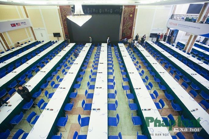 Toàn cảnh Trung tâm báo chí quốc tế phục vụ Hội nghị Thượng đỉnh Triều Tiên - Hoa Kỳ Ảnh 4