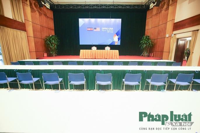 Toàn cảnh Trung tâm báo chí quốc tế phục vụ Hội nghị Thượng đỉnh Triều Tiên - Hoa Kỳ Ảnh 8
