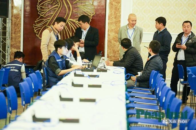 Toàn cảnh Trung tâm báo chí quốc tế phục vụ Hội nghị Thượng đỉnh Triều Tiên - Hoa Kỳ Ảnh 9