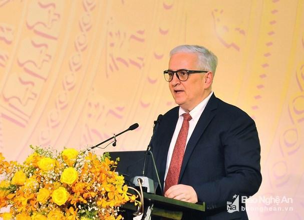 Tiếp tục nâng cao vị trí sản xuất chiến lược của tỉnh Nghệ An Ảnh 1