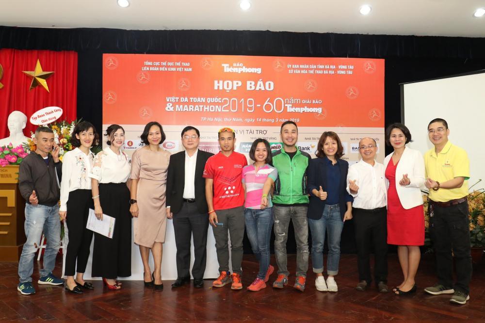 Giải Việt dã và Marathon báo Tiền phong 2019: Chạy với ngôi sao Ảnh 2