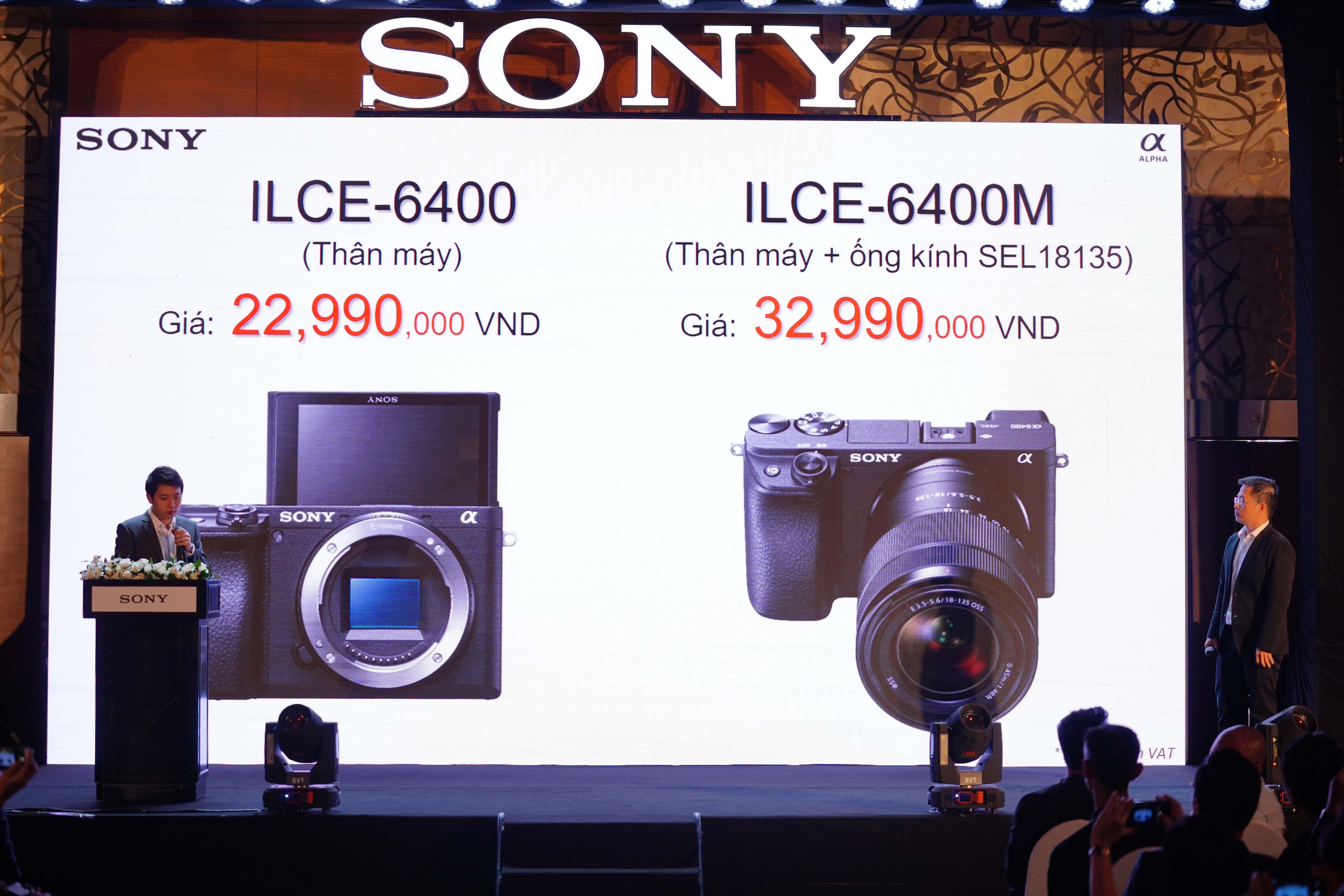 Sony ra mắt máy ảnh không gương lật α6400 ảnh 1