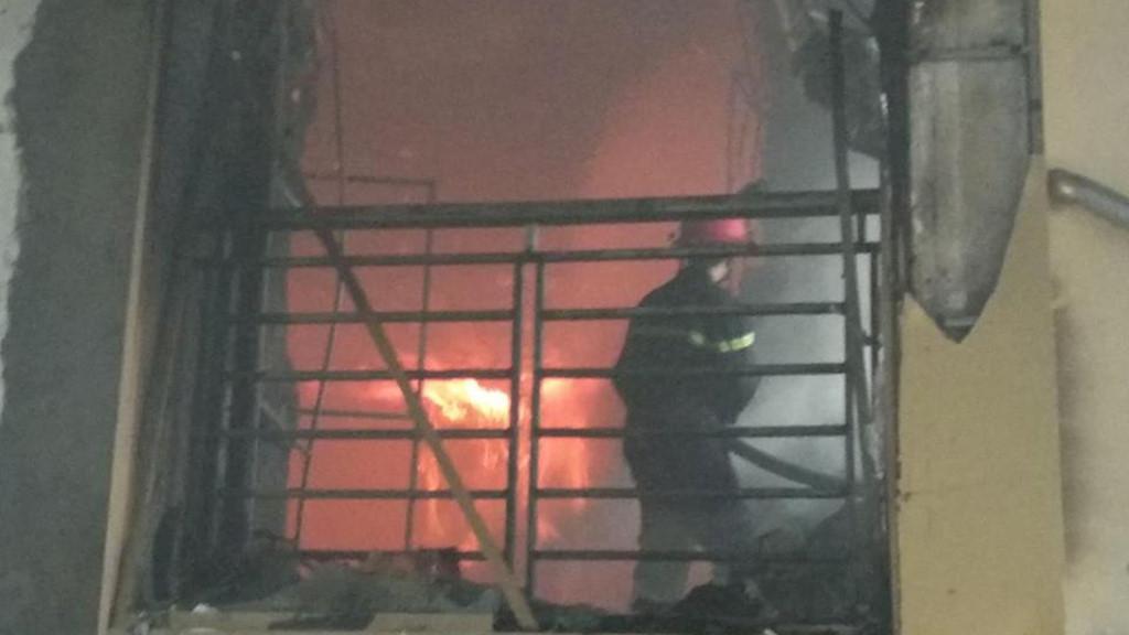 Một người tử vong trong vụ cháy tổ hợp khách sạn ở Nghệ An Ảnh 2