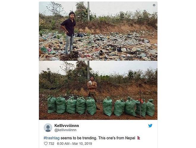 Thử thách dọn rác thành trào lưu đẹp, 'gây bão' mạng xã hội như thế nào? Ảnh 2