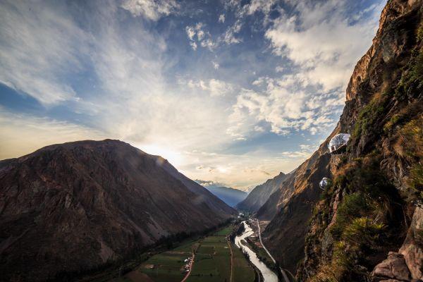 'Khách sạn treo' bên vách núi ở Peru Ảnh 2