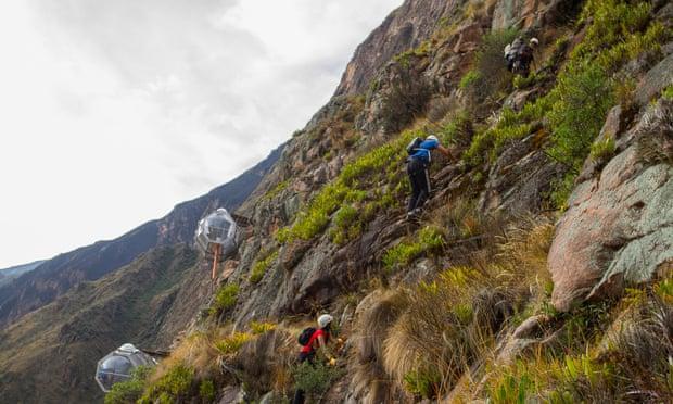 'Khách sạn treo' bên vách núi ở Peru Ảnh 6