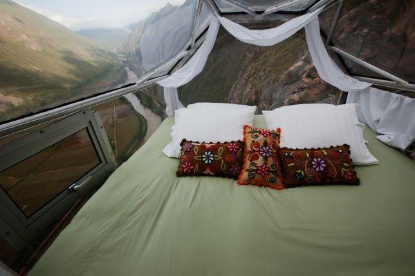 'Khách sạn treo' bên vách núi ở Peru Ảnh 4