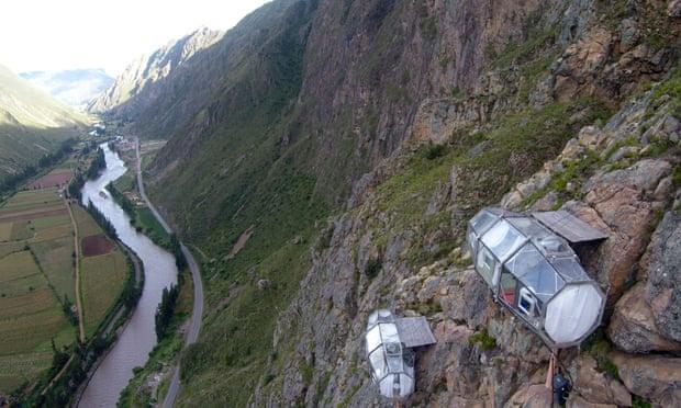 'Khách sạn treo' bên vách núi ở Peru Ảnh 1