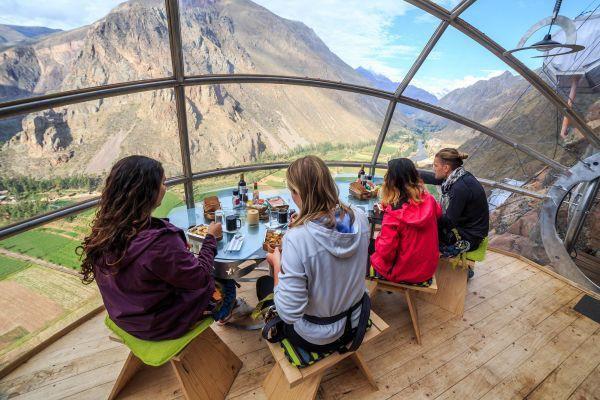 'Khách sạn treo' bên vách núi ở Peru Ảnh 5