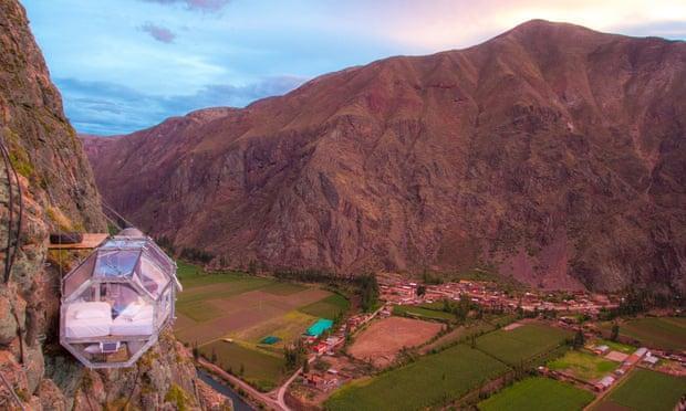 'Khách sạn treo' bên vách núi ở Peru Ảnh 3