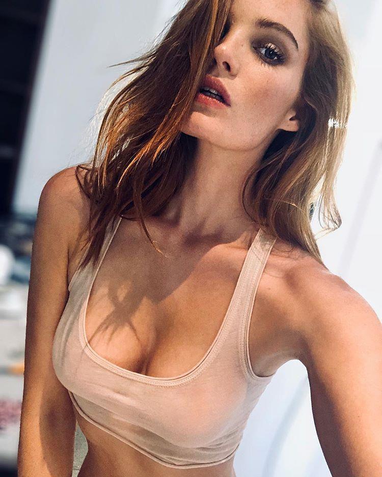 Thiên thần Victoria's Secret mới 'nghiện' đăng ảnh khoe vòng một Ảnh 9