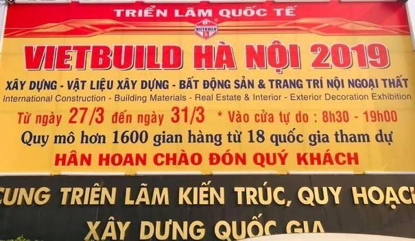 Triển lãm quốc tế Vietbuild Hà Nội lần 1 năm 2019 Ảnh 3