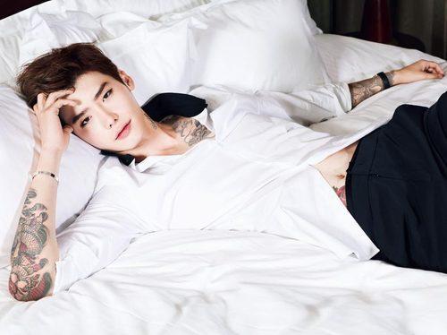 Trong lúc đang nhập ngũ, hình xăm của Lee Jong Suk chụp cho tạp chí Ceci 2014 bỗng gây sốt trở lại Ảnh 5