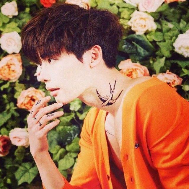 Trong lúc đang nhập ngũ, hình xăm của Lee Jong Suk chụp cho tạp chí Ceci 2014 bỗng gây sốt trở lại Ảnh 8