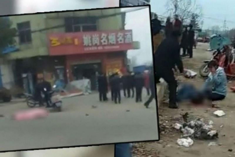 Trung Quốc: Ô tô lao vào đám đông, 7 người thiệt mạng Ảnh 1