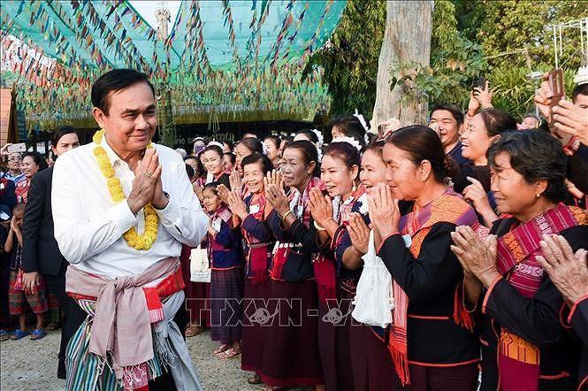 Các chính đảng Thái Lan vận động bầu cử vào phút chót Ảnh 1