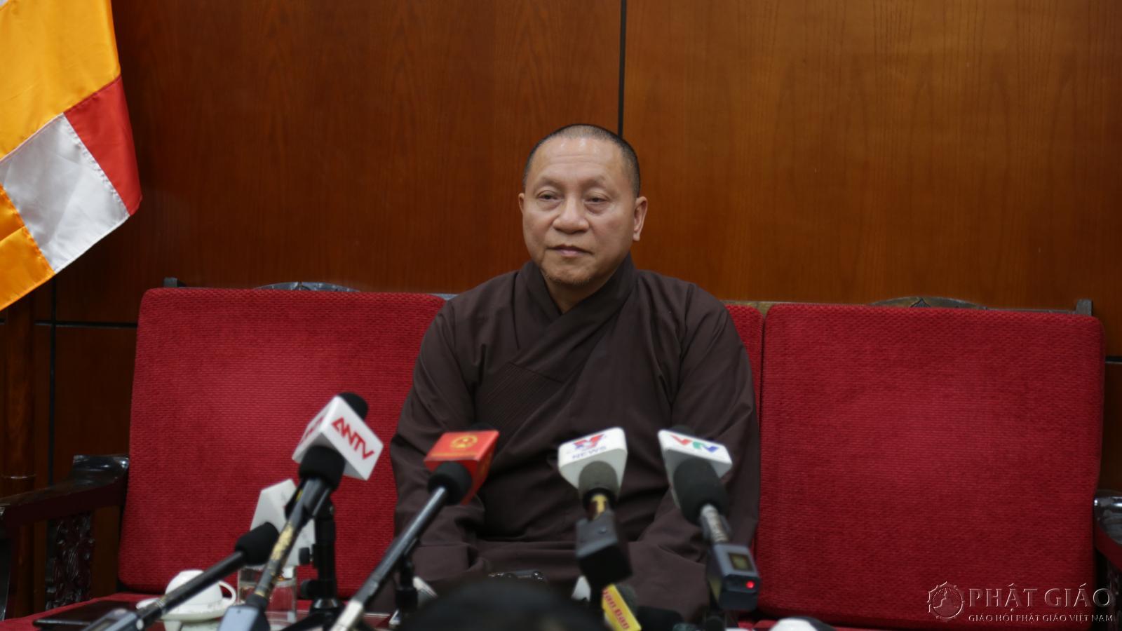 Trụ trì chùa Ba Vàng Trúc Thái Minh vi phạm hiến chương, phải sám hối Đại Tăng Ảnh 2