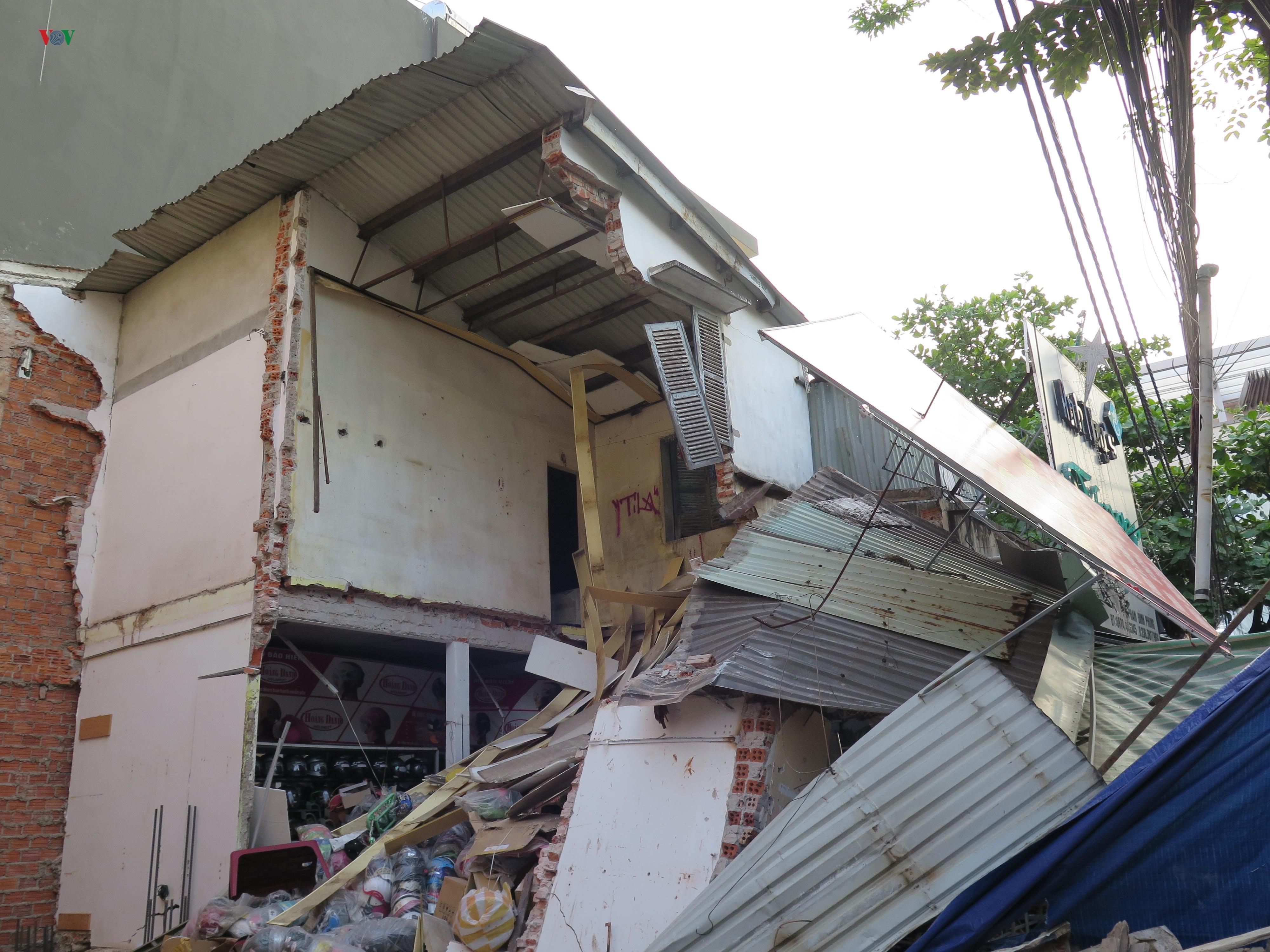 Thi công ẩu làm sập nhà hàng xóm Ảnh 2