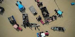 Mưa lớn bất ngờ gây lũ lụt, hàng nghìn người dân Iran phải sơ tán Ảnh 1