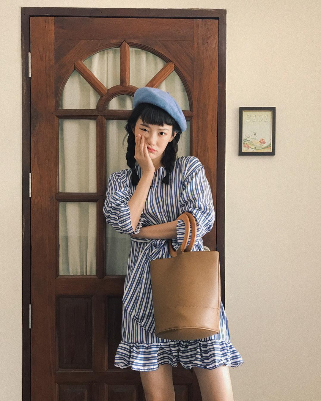 Hot girl Thái Lan chỉ mặc đồ cơ bản, giá rẻ bèo vẫn nổi khắp châu Á Ảnh 8