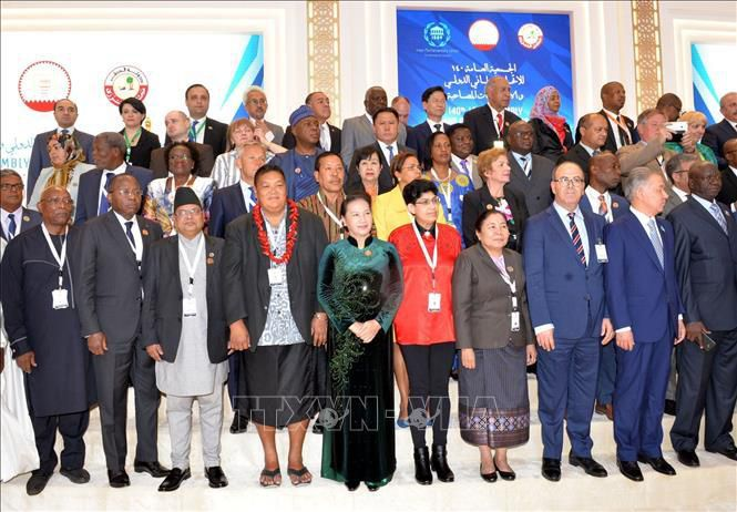 Chủ tịch Quốc hội phát biểu tại Phiên thảo luận toàn thể Đại hội đồng IPU-140 Ảnh 3