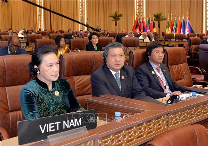 Chủ tịch Quốc hội phát biểu tại Phiên thảo luận toàn thể Đại hội đồng IPU-140 Ảnh 2
