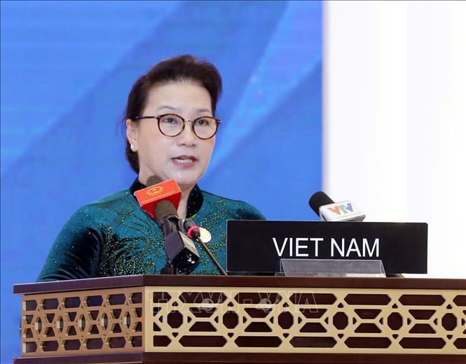 Chủ tịch Quốc hội phát biểu tại Phiên thảo luận toàn thể Đại hội đồng IPU-140 Ảnh 1