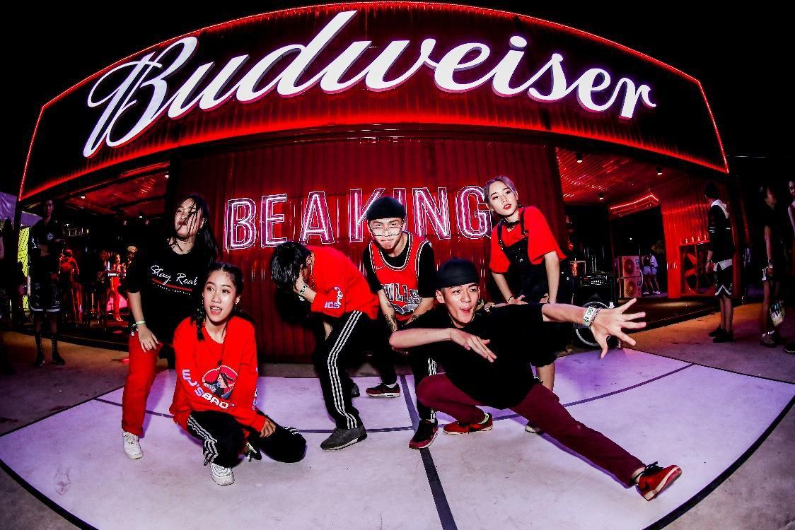 Fung La cùng dàn sao Underground xuất hiện cực chất tại sự kiện đặc biệt của Budweiser Ảnh 6
