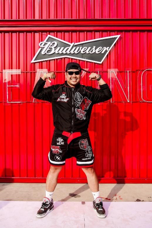 Fung La cùng dàn sao Underground xuất hiện cực chất tại sự kiện đặc biệt của Budweiser Ảnh 3