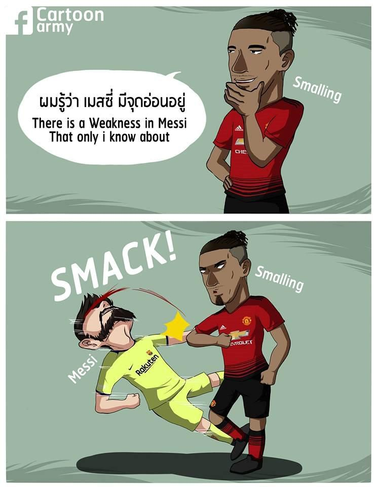 Biếm họa 24h: Sao MU và Lionel Messi trở thành 'trò cười' trên MXH Ảnh 4