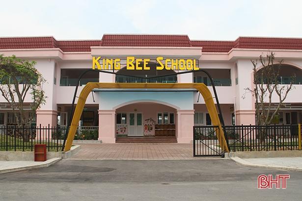 Formosa Hà Tĩnh hoàn thành xây dựng Trường Mầm non song ngữ KingBee Ảnh 1