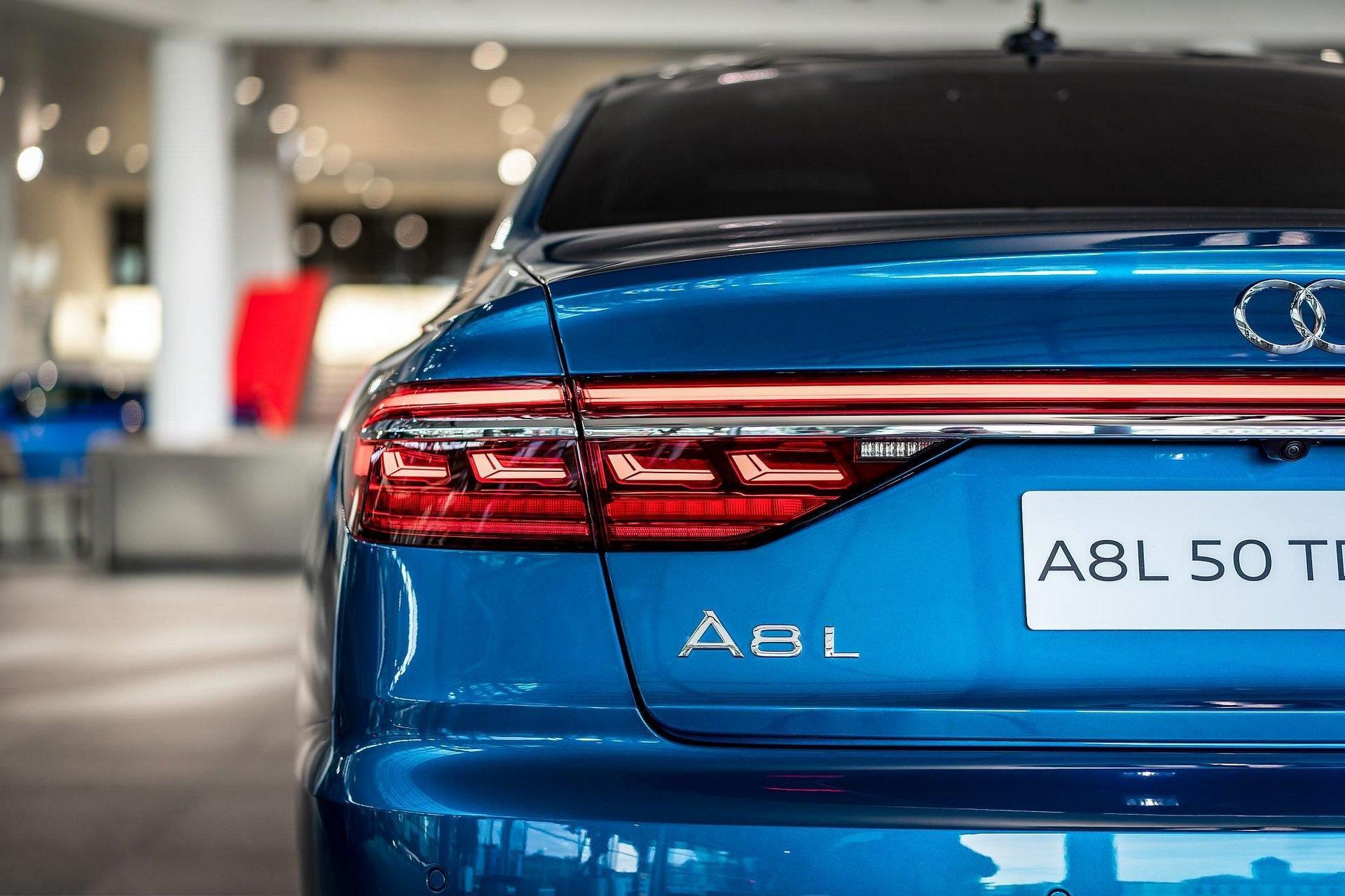 Audi A8 với màu sơn độc quyền trị giá gần 80 triệu đồng Ảnh 2