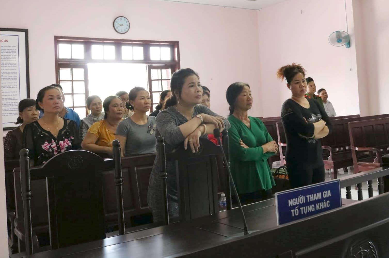 Nữ bị cáo mang thai xin tòa xử vắng mặt lĩnh 13 năm tù Ảnh 1