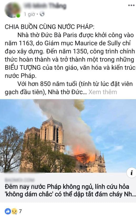 Nóng mạng xã hội: Nhà thờ Đức Bà Paris cháy lớn, 'tất cả còn trong ký ức!' Ảnh 3