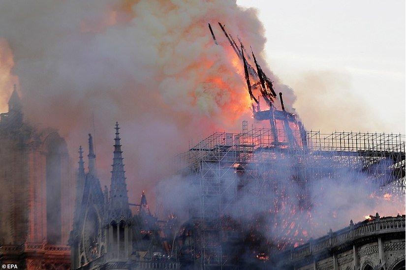 Điều kỳ diệu gây bất ngờ sau vụ hỏa hoạn Nhà thờ Đức Bà Paris Ảnh 2
