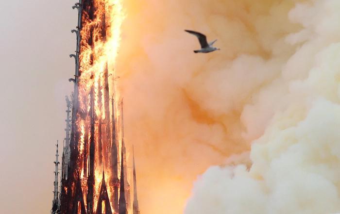 Nhà thờ Đức Bà Paris: Toàn cảnh hiện trường sau đám cháy lịch sử Ảnh 3