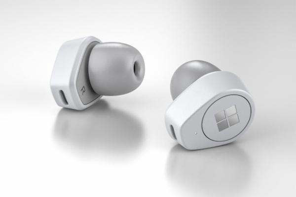 Bắt chước Apple, Microsoft cũng làm tai nghe không dây như AirPods Ảnh 1