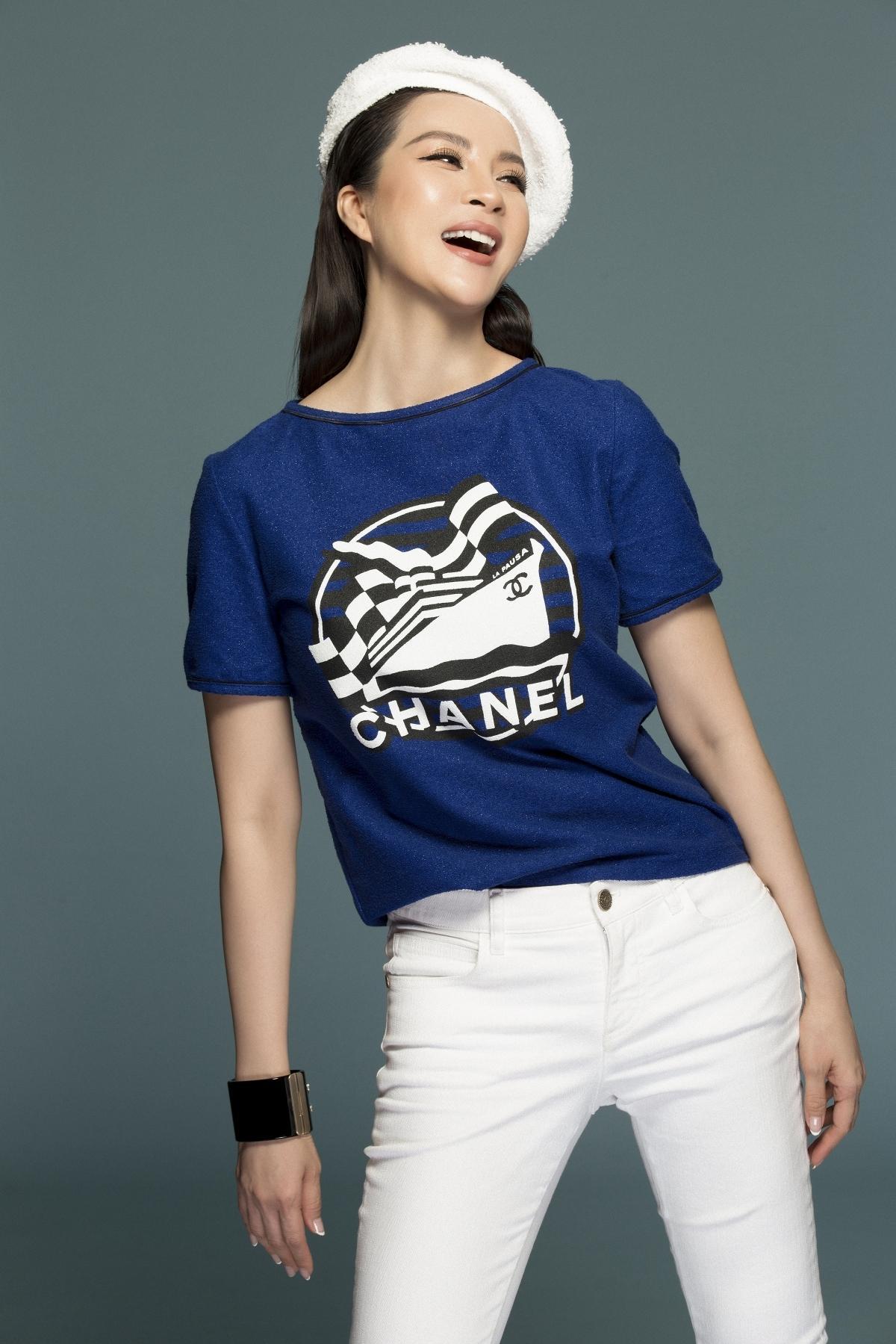 MC Thanh Mai biến hóa đa phong cách phù hợp tuổi trung niên Ảnh 14