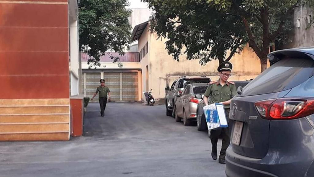 Vụ cán bộ thanh tra nhận tiền: Công an kiểm tra tại trụ sở Thanh tra tỉnh Thanh Hóa Ảnh 1