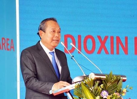 Phó Thủ tướng dự Lễ khởi động dự án xử lý dioxin sân bay Biên Hòa ảnh 1